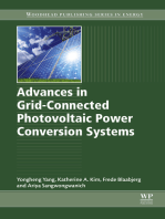Advances in Grid-Connected Photovoltaic Power Conversion Systems