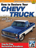 How to Restore Your Chevy Truck