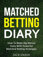 Matched Betting Diary