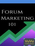 Forum Marketing 101