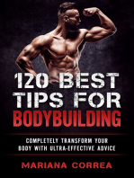 120 Best Tips for Bodybuilding