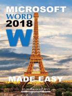 Microsoft Word 2018