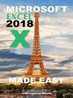 Microsoft Excel 2018
