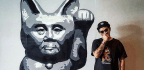 The Artist 'Headache Stencil' Uses Graffiti To Criticize Military Rule In Thailand