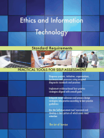Ethics and Information Technology Standard Requirements