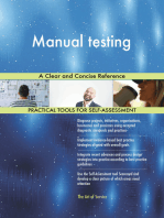Manual testing A Clear and Concise Reference