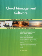 Cloud Management Software Complete Self-Assessment Guide