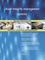Asset integrity management systems Standard Requirements
