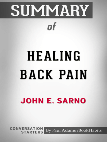 Summary of Healing Back Pain: The Mind-Body Connection