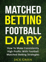 Matched Betting Football Diary