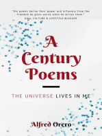 The Universe Lives In Me (A Century Poems Book 2)
