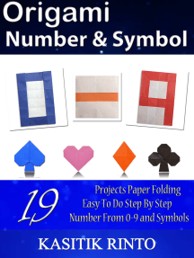 Origami Number & Symbol: Paper Folding Number 0 to 9 and Symbols