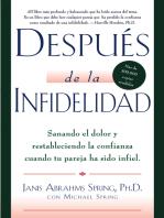 Después de la infidelidad: Sanando el dolor y restableciendo la con