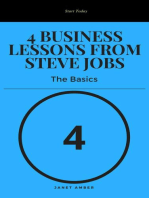 4 Business Lessons from Steve Jobs