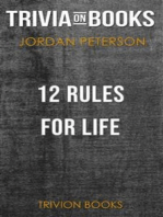 12 Rules for Life by Jordan B. Peterson (Trivia-On-Books)