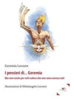 I pensieri di Geremia