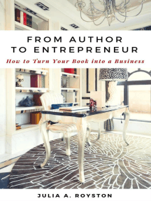 From Author to Entrepreneur