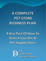 A Complete Pet Store Business Plan