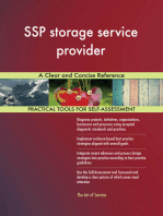 SSP storage service provider A Clear and Concise Reference