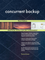 concurrent backup Third Edition