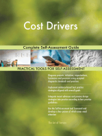 Cost Drivers Complete Self-Assessment Guide