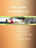 Open system (systems theory) A Complete Guide