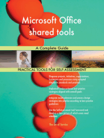 Microsoft Office shared tools A Complete Guide