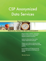 CSP Anonymized Data Services Second Edition