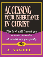 Accessing Your Inheritance in Christ