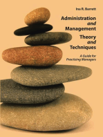 Administration and Management Theory and Techniques