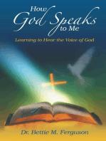 How God Speaks to Me