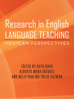Research in English Language Teaching: Mexican Perspectives