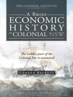 A Brief Economic History of Colonial Nsw