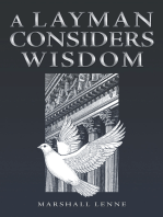 A Layman Considers Wisdom