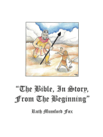 """The Bible, in Story, from the Beginning"""