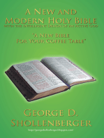 A New and Modern Holy Bible with the Intelligent Design of an Active God