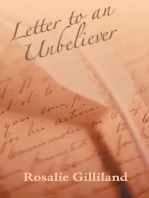 Letter to an Unbeliever