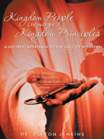Kingdom People Living by Kingdom Principles