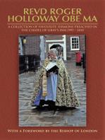 Revd Roger Holloway Obe Ma