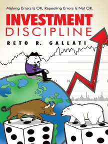 Investment Discipline: Making Errors Is Ok, Repeating Errors Is Not Ok.