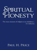 Spiritual Honesty