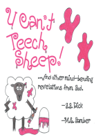U Can't Teech Sheep!