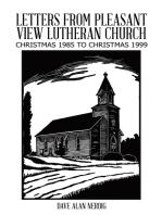 Letters from Pleasant View Lutheran Church