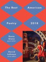Best American Poetry 2018