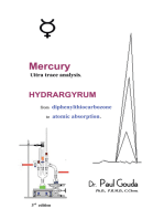 Mercury, Ultra Trace Analysis: Hydrargyrum, from  Diphenylthiocarbozone to  Atomic Absorption