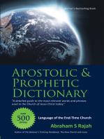 Apostolic & Prophetic Dictionary