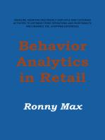 Behavior Analytics in Retail