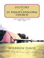 History of St. Philip'S Episcopal Church