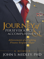 Journey of Perseverance and Accomplishments: Achievements of a Fighting Finance Sergeant Major