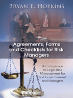 Agreements, Forms and Checklists for Risk Managers